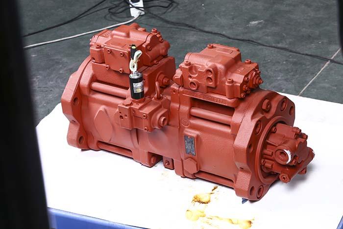 徐工挖掘机配件k3v112dt-1x7r-9n4p-v川崎液压泵图片